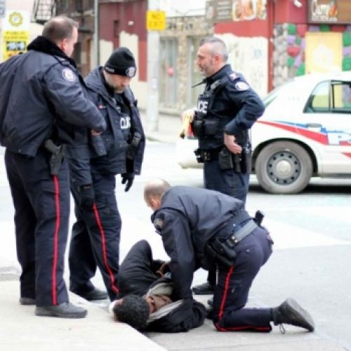 [WATCH] Toronto Cop Who Tasered and Stomped on Suspect Appears Before Disciplinary Hearing
