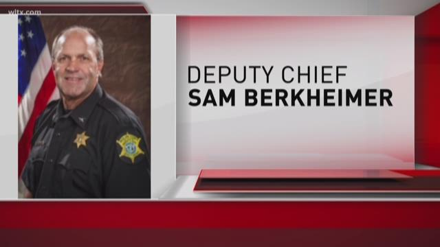 richland county deputy chief arrested on dui charge