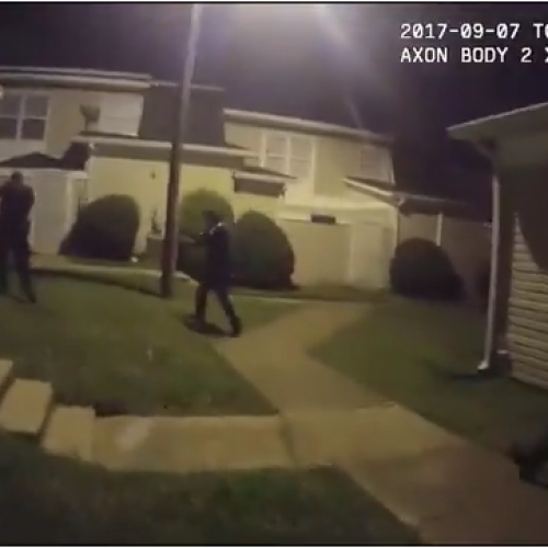 [WATCH] Newly Released Body Cam Video Shows Charlotte Man Had Arms Raised When Police Shot Him