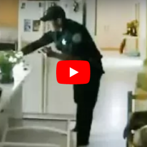 [WATCH] Florida Sheriff's Deputy Caught on Video Stealing From Dead Man's Home