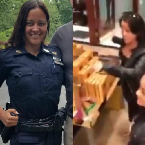 [WATCH] 'Chocolate And Blood All Over' Off-Duty NYC Cop Goes on a Rampage in a Connecticut Godiva Shop