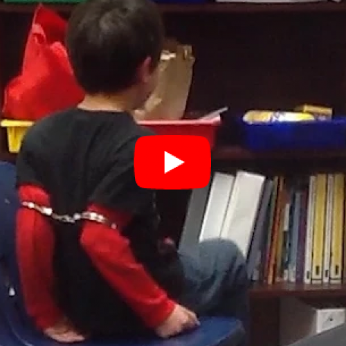 [WATCH] Shackling Elementary School Kids Above Elbow Found to Violate the Fourth Amendment