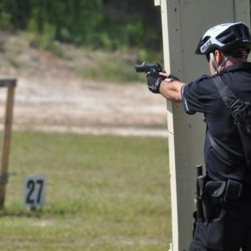 Officer Accidentally Shoots Another Officer While Training at Firing Range