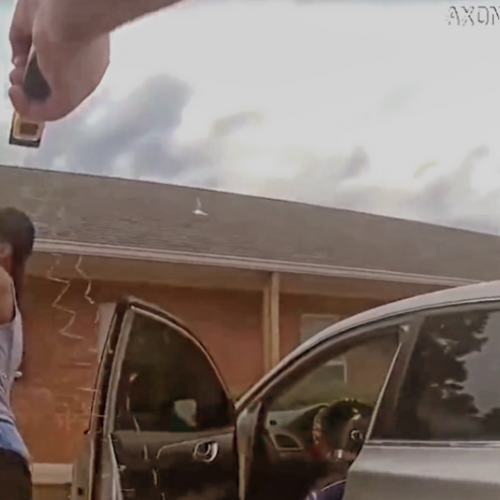 [WATCH] Arkansas Cop Tasers Man in Back, Then Tells Him He's Under Arrest