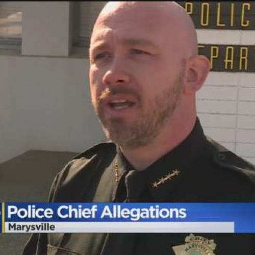 [WATCH] Marysville Police Chief Steps Down Amid Sexual Assault Allegations