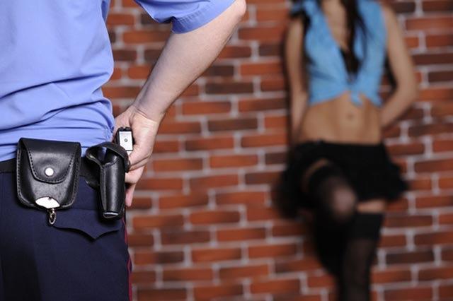 Секс с офицером