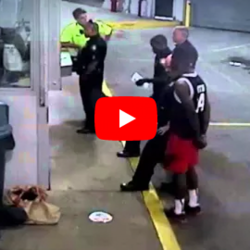 [WATCH] Lawsuit Says Sheriff is to Blame in Handcuffed Woman's Beating