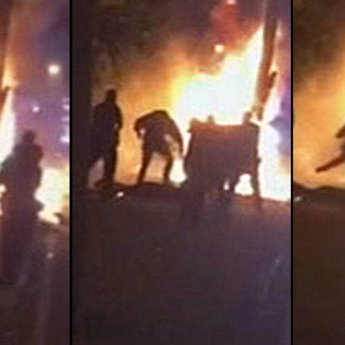 [WATCH] Four New Jersey Cops Charged in Beating of Innocent Man Engulfed in Flames
