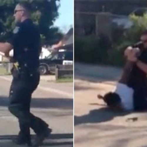 WATCH: Sacramento Officer Who Punched Alleged Jaywalker Returns to Duty