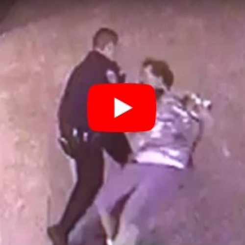 WATCH: Eugene Police Officer Throws Down and Punches Handcuffed DUI Suspect