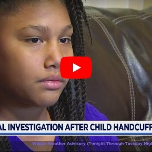 WATCH: 11-Year-Old Held at Gunpoint and Handcuffed by Police After Stepping Out of House