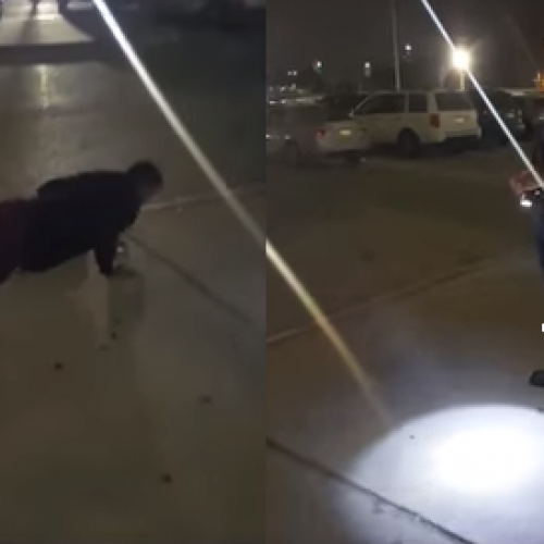 WATCH: Texas Police Officer Gave a Teenager 200 Push-Ups Instead Of Jail Time For Smoking Pot