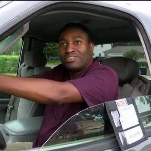 WATCH: Jacksonville Man's Invention Created to Help Drivers and Law Enforcement