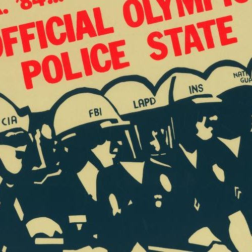 These Powerful Political Posters Called Out Police Violence in L.A. and Beyond