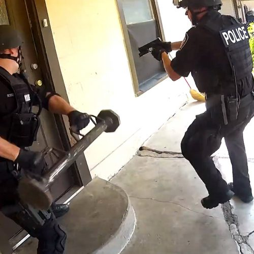 State Courts Slap Down Cops on Outrageous Over-the-Top Pot Raids