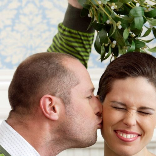 Ridicule as UK Police Say Kissing Under The Mistletoe Without Consent is 'Rape'