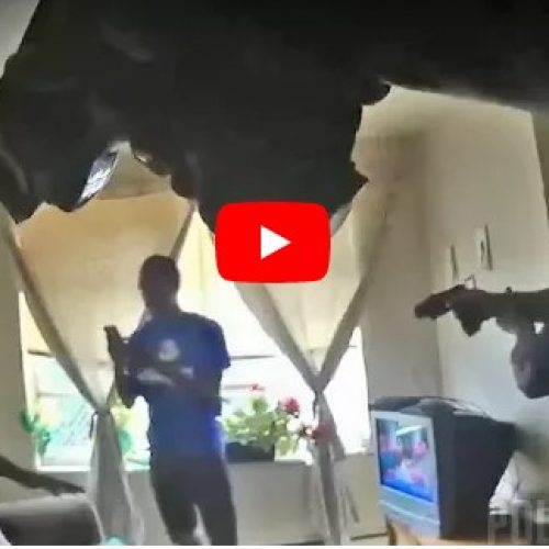 WATCH: Two Ohio Officers Taser Men in Domestic Dispute Call-Out