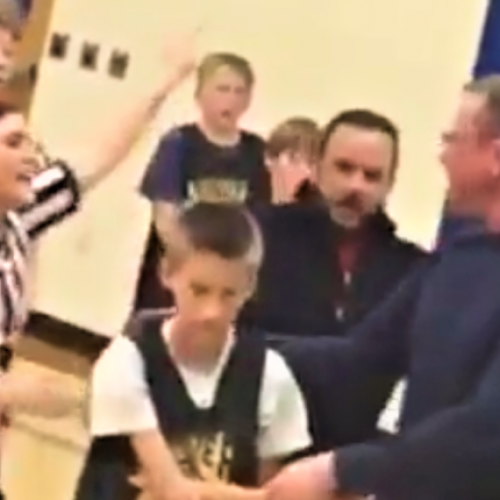 WATCH: Wichita Police Employee Shoves Teen Girl Referee During Fight at Youth Basketball Game