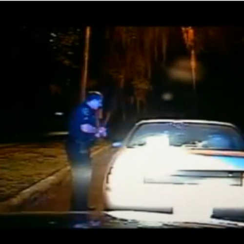 WATCH: Dashcam Captures Cops Inappropriate Demands During Traffic Stop
