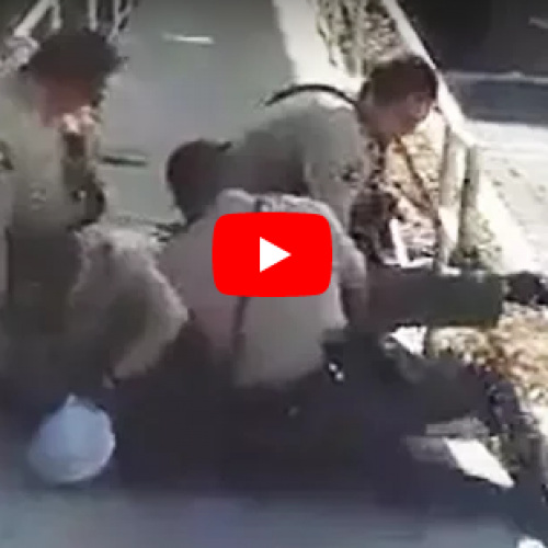 WATCH: San Diego Sheriff's Deputies Violently Assault Man Face Down On The Ground