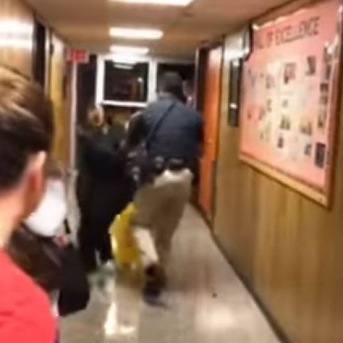 WATCH: Teacher 'Pushed to Floor' and Handcuffed After Questioning Pay Rise For Superintendent