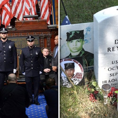 Cops Who Shot and Killed Unarmed Veteran Were Awarded Medals For 'Courage'