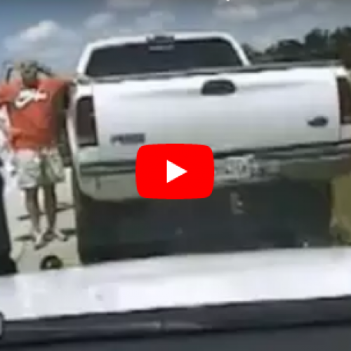 WATCH: Cop Flips The Bird at Fellow Cop During Traffic Stop