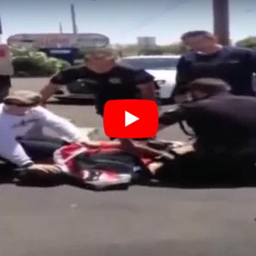 WATCH: Police Brutality in Mesa, AZ Caught On Camera