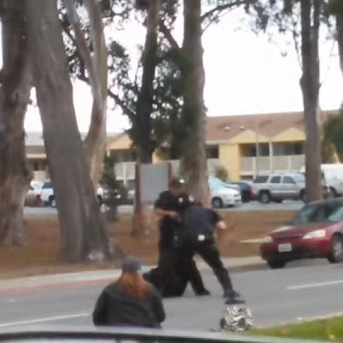 WATCH: California Cops Savagely Beat Mentally Ill Man With Baton