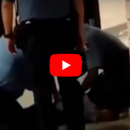 WATCH: Super-Tough Cops Take Down 70-Pound High School Girl Who Wanted To Keep Her Cell Phone
