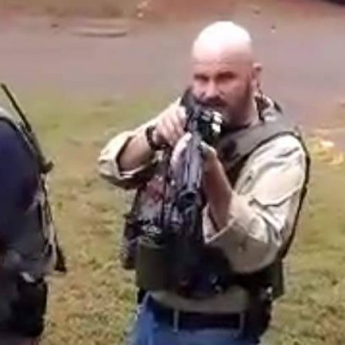 WATCH: Cop Threatens Innocent Pregnant Woman and Her Fiancé with a Shotgun for Filming Them