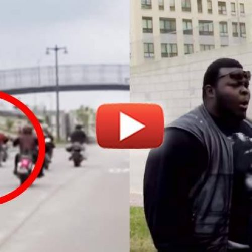 Dramatic Video Captures a Milwaukee Cop Run Down a Motorcyclist and the Tense Aftermath