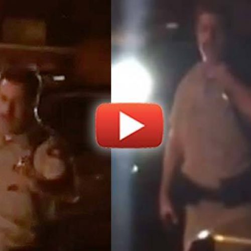WATCH: Cop Mistakes Couple with Baby for a 'Robber' – So He Pulls Gun & Assaults Them
