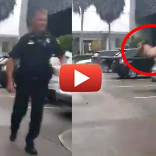 WATCH: Cop Flips Man Off and Calls Him an A**Hole for Filming