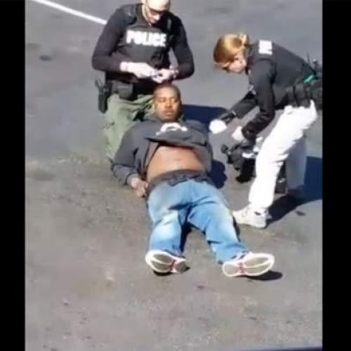 "WATCH: Cop Shoots Man in the Chest, Then Tells him ""You're Lucky I Didn't Shoot You in the Head"""