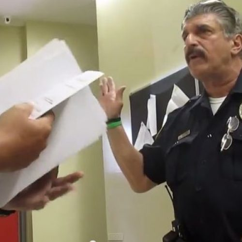 WATCH: New Jersey Police Officer Says I Don't Give a Damn About the Constitution