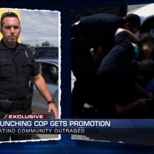 WATCH: Cop Gets Promoted After Abusing Pregnant Woman & Punching Man In The Face
