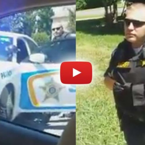 WATCH: 2 Black Guys Make Cop Look Foolish for Racially Profiling Them in their Own Neighborhood