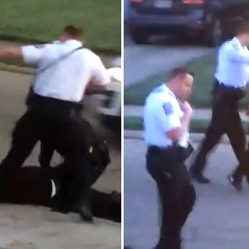 WATCH: Ohio Officer Fired After Video Shows Him Kicking Man in Head