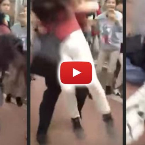 WATCH: Cop Body Slams 12-Year-Old Girl on Her Face Knocks Her Out