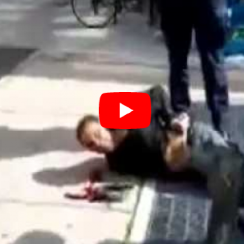 WATCH: Cops Caught on Video Throwing Man in Wheelchair Onto Sidewalk Will NOT Face Charges