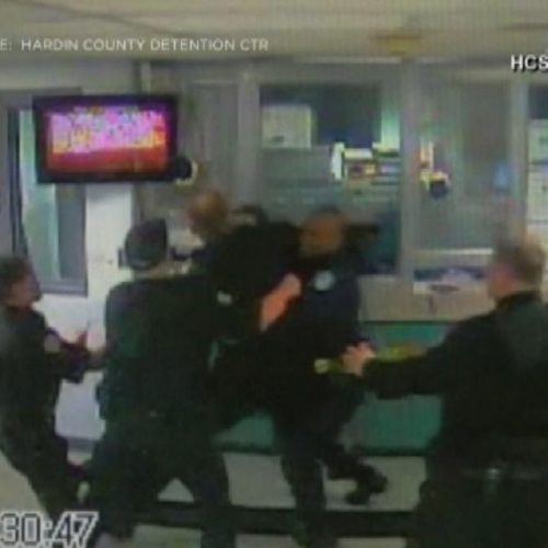 WATCH: Video Shows Kentucky Deputies Fighting In Front of Inmates