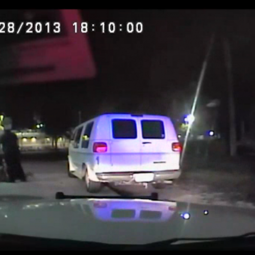 WATCH: Cops Accidentally Mace Each Other While Beating Handcuffed Man