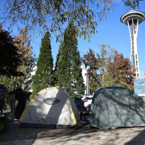 Seattle Police Issue $1,025 Littering Ticket to Homeless Man