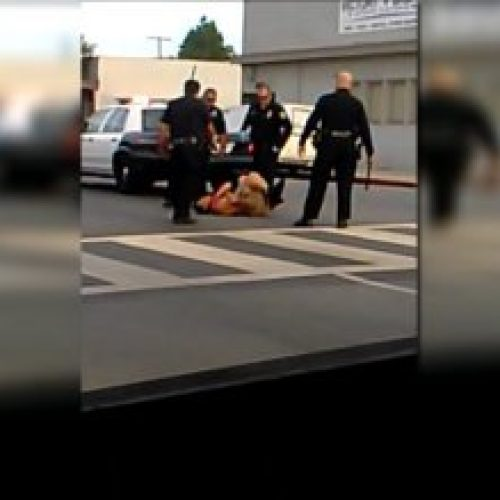 WATCH: Long Beach California Police Brutally Beat Man