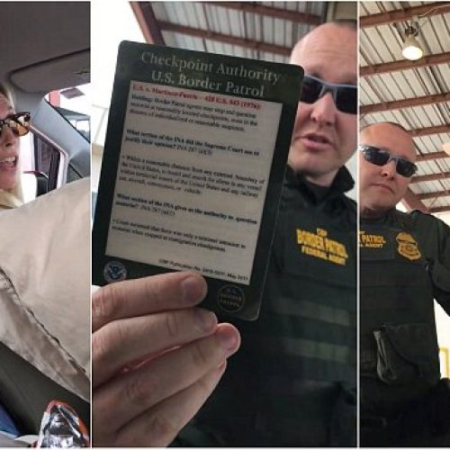 WATCH: San Diego Teacher Refuses to Answer Border Patrol Questions at Checkpoint