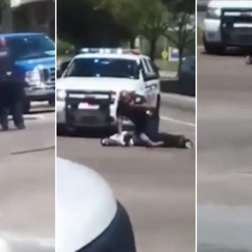WATCH: Texas Sheriff's Deputy Caught on Video Fatally Shooting Unarmed Man With Pants Around His Ankles