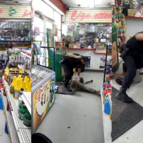 WATCH: Disturbing Video Shows Cop Brutally Beating Mentally Ill Woman With Baton