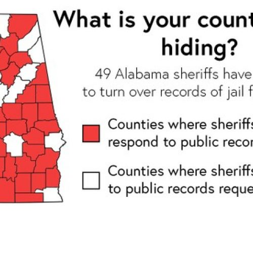 49 Alabama Sheriffs Hide Jail Food Funds, Flout Open Records Law