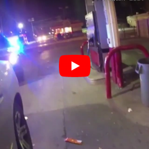 WATCH: Chicago Police Handcuff, Slam Man Down For License Plate Light